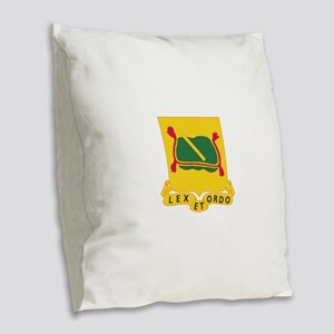 716th Military Police Battalio Burlap Throw Pillow