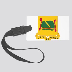 716th Military Police Battalion Large Luggage Tag