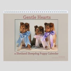 Gentle Hearts Puppy Wall Calendar