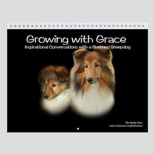 Growing with Grace-A Sheltie Calendar