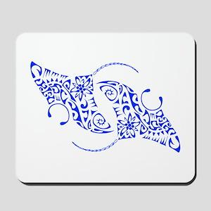 Manta Ray Spiral Mousepad