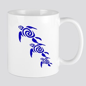 A group Oceania tribal turtles Mugs