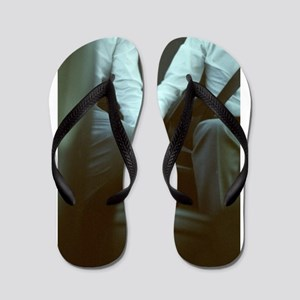 72d4602673cd0a Gay Wedding Flip Flops - CafePress