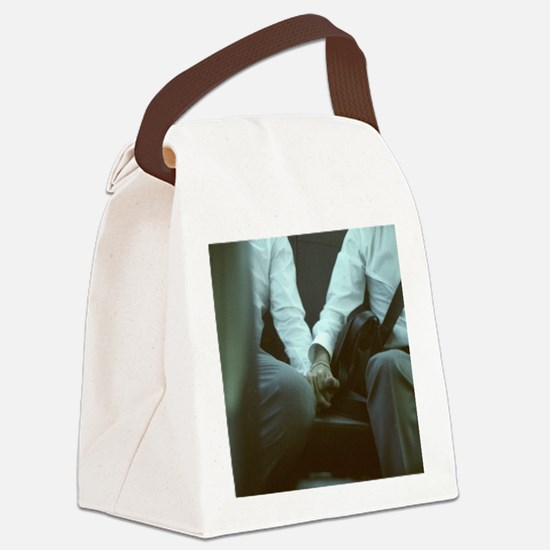 Unique Mood Canvas Lunch Bag