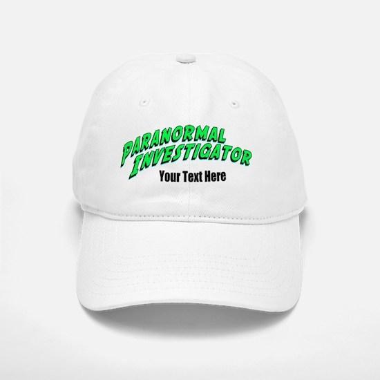 Paranormal Investigator Baseball Baseball Cap