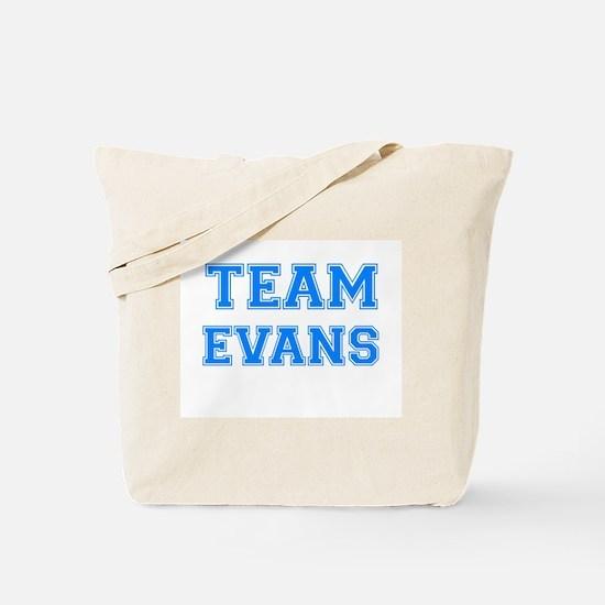TEAM EVANS Tote Bag