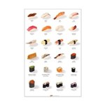 Sushi Ensemble (11'' x 17'') (english)