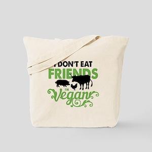 Vegan Friends Tote Bag