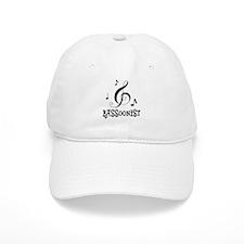 Bassoonist Music Logo Baseball Cap