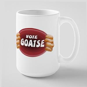 Large Mug with goatse design