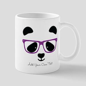 Cute Panda Purple Mug