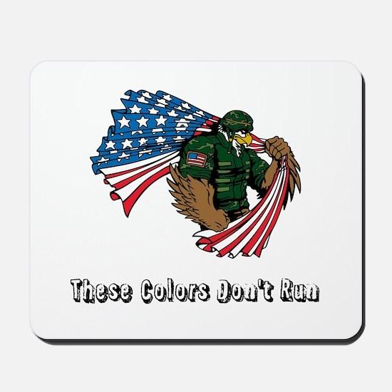 Custom Flag and Eagle Mousepad