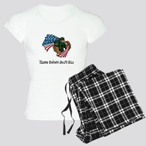 Custom Flag and Eagle Pajamas