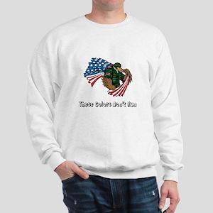 Custom Flag and Eagle Sweatshirt