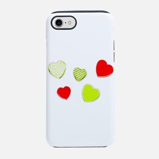 Valentines Day Heart Hurray Da iPhone 7 Tough Case