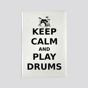 KEEP CALM DRUMS Magnets