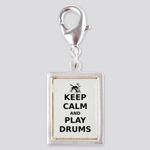 KEEP CALM DRUMS Charms