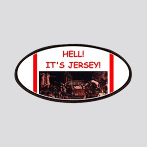 new jersey Patches