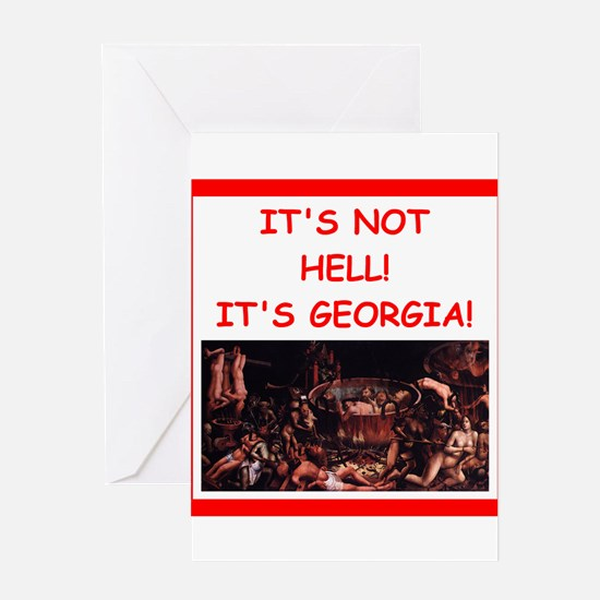 georgia Greeting Cards