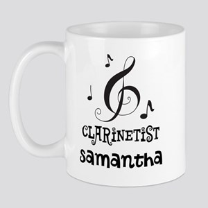 Clarinet Personalized Mug