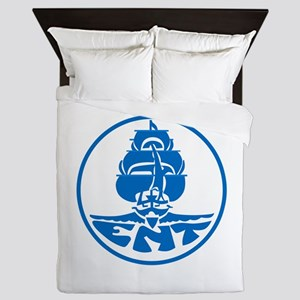 CV-6 USS ENTERPRISE Multi-Purpose Airc Queen Duvet
