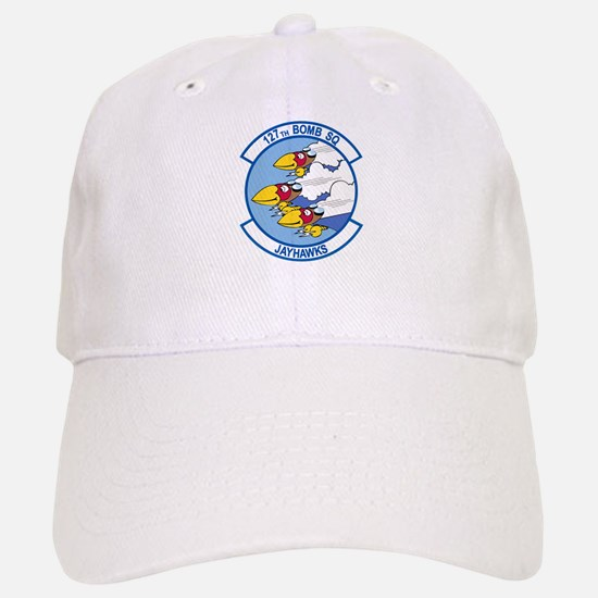 127th_bomb_sq.png Baseball Baseball Cap