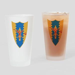 4th Cavalry Regiment Drinking Glass