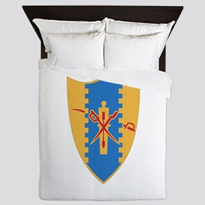 4th Cavalry Regiment Queen Duvet