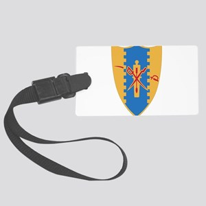 4th Cavalry Regiment Large Luggage Tag