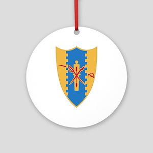 4th Cavalry Regiment Ornament (Round)