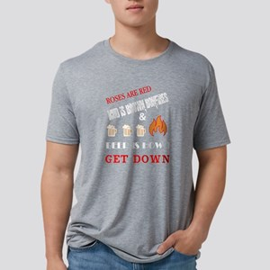 Bonfires And Beer Is How I Get Down T Shir T-Shirt