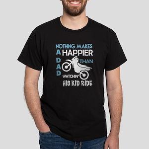 Watching His Kid Ride T Shirt T-Shirt