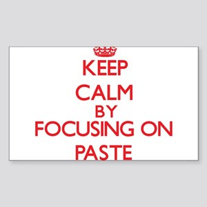 Keep Calm by focusing on Paste Sticker