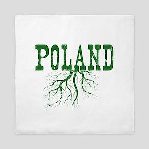 Poland Roots Queen Duvet