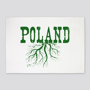 Poland Roots 5'x7'Area Rug