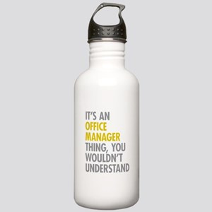 Office Manager Thing Stainless Water Bottle 1.0L