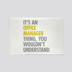 Office Manager Thing Rectangle Magnet