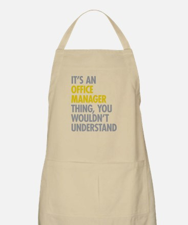 Office Manager Thing Apron