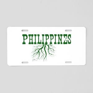 Philippines Roots Aluminum License Plate
