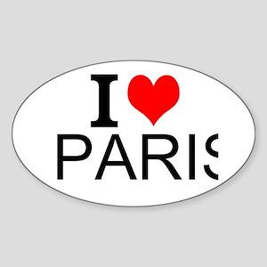 I Love Paris Sticker