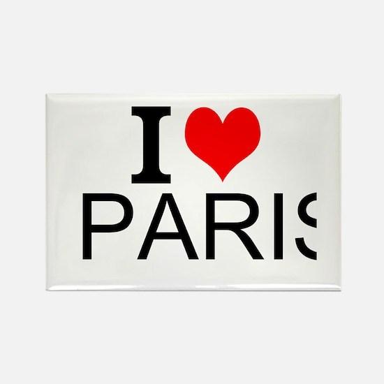 I Love Paris Magnets