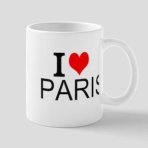 I Love Paris Mugs