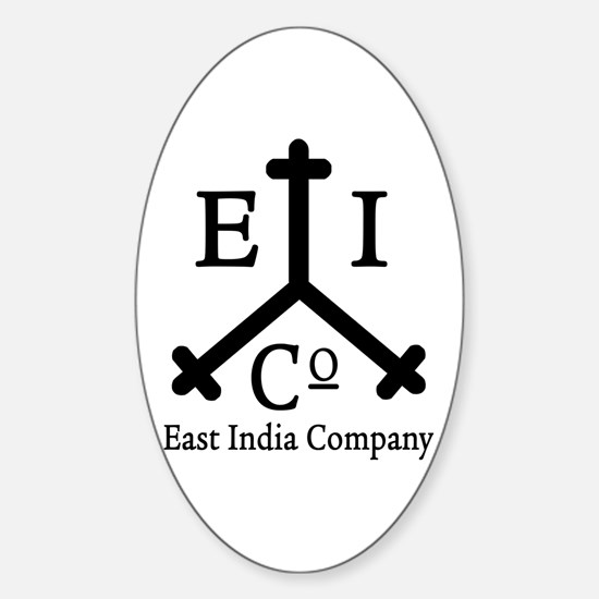 East India Co. Oval Decal