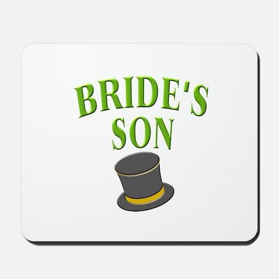 Bride's Son (hat) Mousepad
