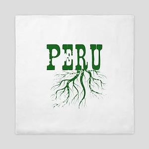 Peru Roots Queen Duvet