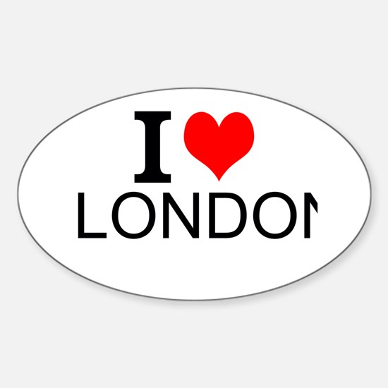 I Love London Decal