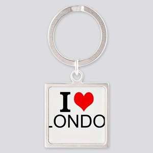 I Love London Keychains