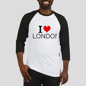 I Love London Baseball Jersey