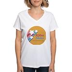 retroshare seal Women's V-Neck T-Shirt