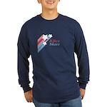 Retroshare Star Long Sleeve Dark T-Shirt